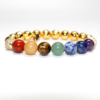 Chakra Beads with Gold hematite